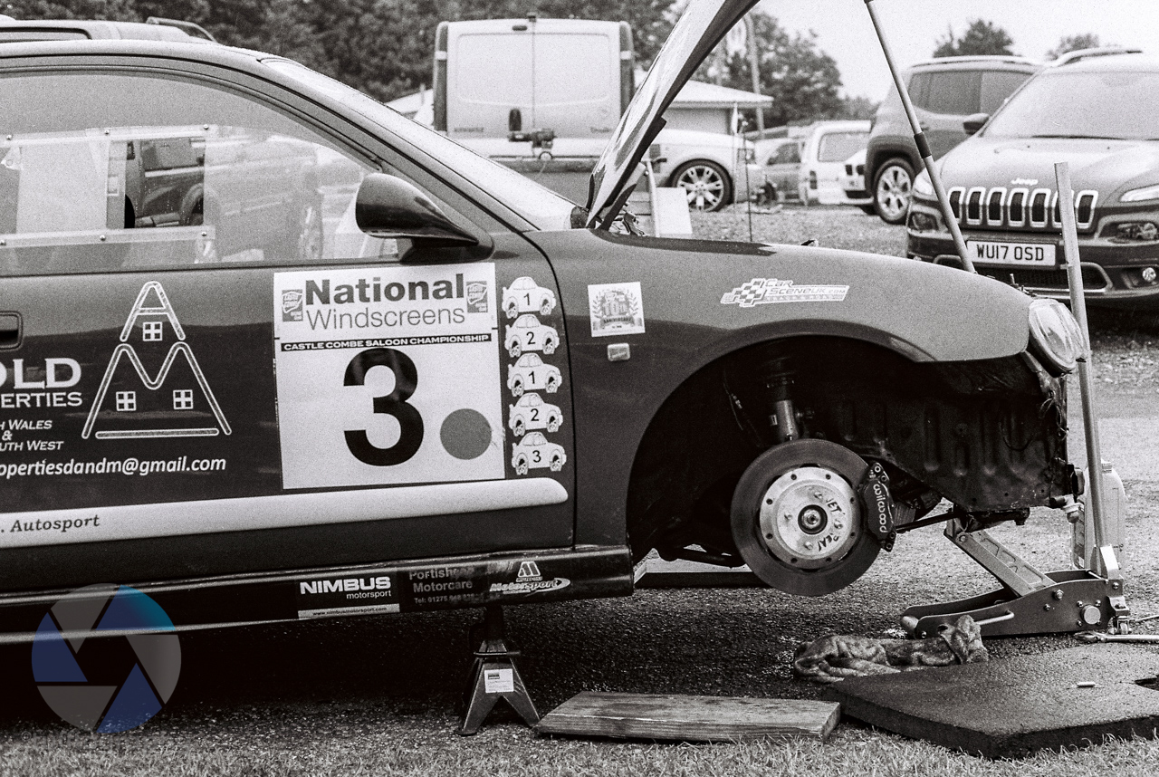 Using the Canon AE-1 for motorsport
